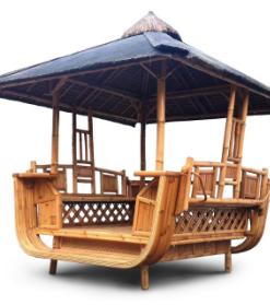 Bambu Premium-lehtimaja