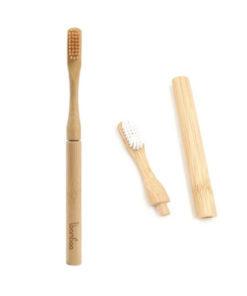 Bambu-hammasharja ja tarvikkeet